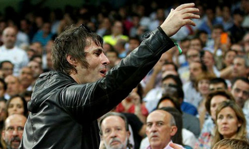 Gallagher, expulsado del Santiago Bernabeu