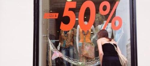 Las ventas se desploman un 17% durante las rebajas de verano