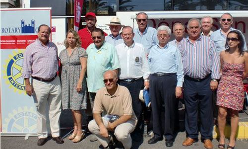 Donaciones de sangre con los Rotarios de Mallorca