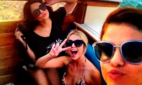 Selena Gómez y Vannessa Hudgens, de locura por Venecia