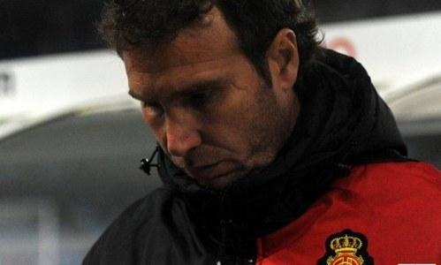 El segundo entrenador del Mallorca recibe muchos apoyos en Twitter