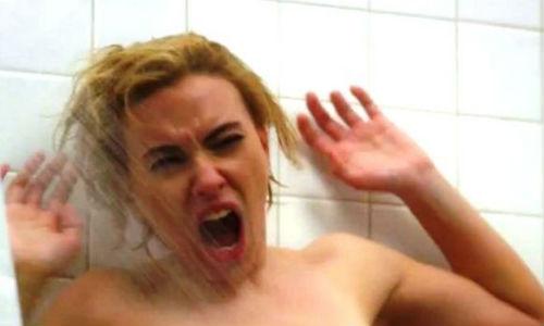 Scarlett Johansson, en Psicosis