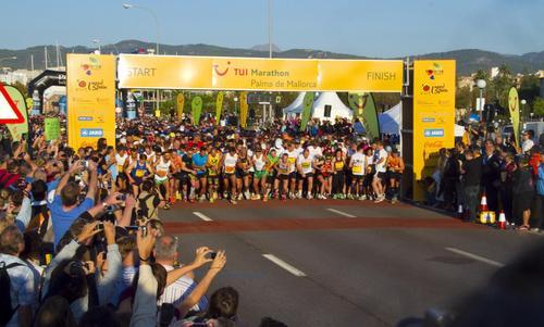 Cierre de calles por el Tui Marathon