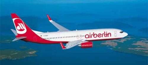 Air Berlin mejora su índice de ocupación hasta un 85%