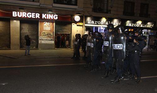Cámaras en los cascos de los antidisturbios