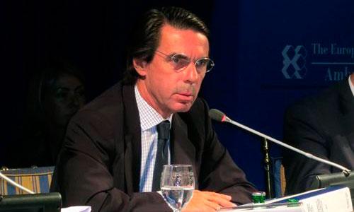 Aznar recibe el alta