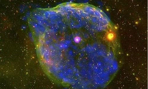 Captan una curiosa burbuja en el Cosmos