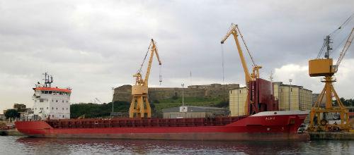 Fuerte aumento de la entrada de mercancías a las islas