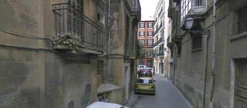 El detenido es mallorquín y vivía solo en la calle Can Gotleu
