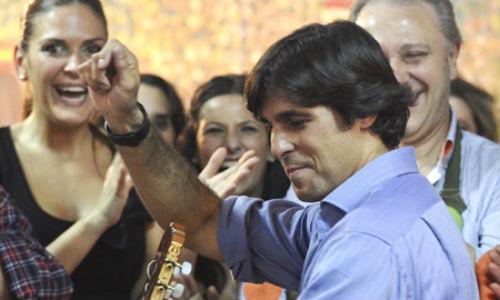 Fran Rivera monta una fiesta en el AVE