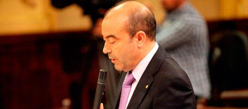 Gómez desvincula a Bauzá de la contratación de Borja Rupérez