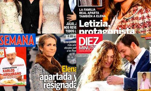 La Infanta Elena, apartada de los actos oficiales
