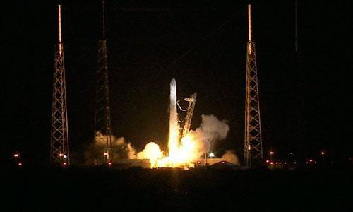 Primer vuelo privado oficial con carga a la ISS