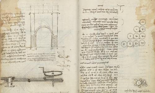 Los códices de Leonardo ya se pueden consultar on-line en internet