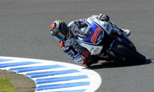 Lorenzo saldrá segundo en la parrilla de Australia