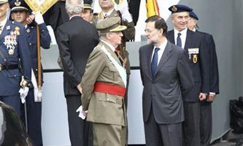 """El Rey se queja a Rajoy de lo de """"españolizar"""" a los catalanes"""