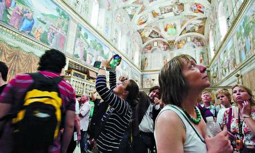 500 años de los frescos de la Capilla Sixtina