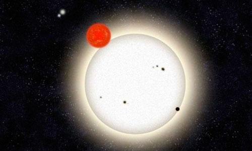 Descubierto un planeta en un sistema de cuatro estrellas