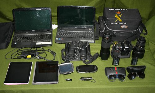 Dos rumanos detenidos por comprar objetos robados en hoteles de Llucmajor