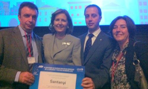 Unicef premia al ayuntamiento de Santanyi