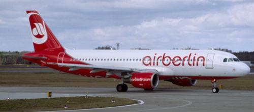 Air Berlin reduce la cifra de pasajeros transportados hasta octubre