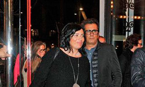 Andreu Buenafuente y Silvia Abril, padres