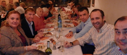 Bauzá, agradecido con el trabajo y colaboración de los afiliados del PP