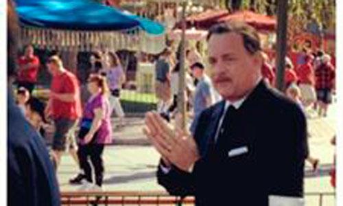 Tom Hanks ya es Walt Disney