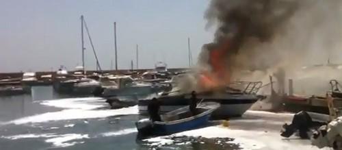 La Audiencia falla que los puertos deportivos no son responsables de los incendios de embarcaciones