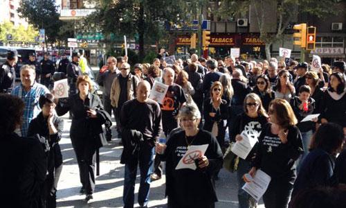 Los funcionarios vuelven a protestar