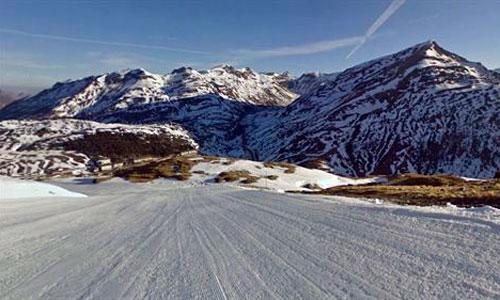 Google Street View viaja por las estaciones de esquí de todo el mundo