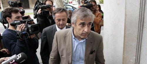 Juaneda y López, ante el juez Castro