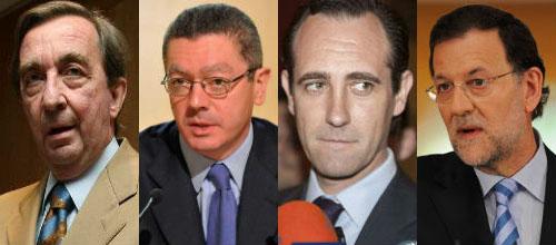 Malestar en dirigentes del PP balear por la inacción de Gallardón