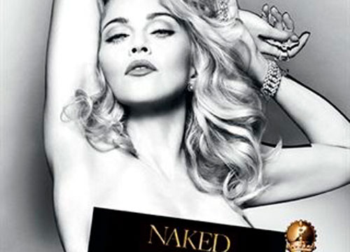 Madonna también se desnuda para promocionar su perfume