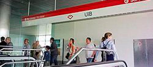 El Metro de Palma aumenta pasajeros