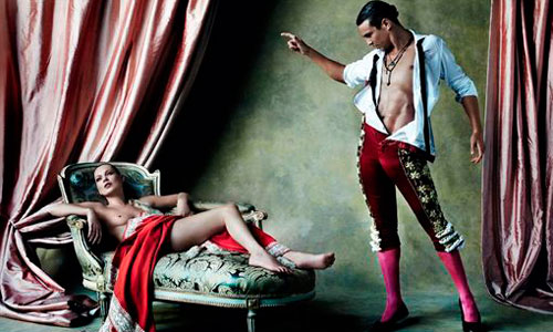 Kate Moss y José María Manzanares desatan su pasión