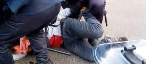 Libertad con cargos para los dos detenidos del 14-N