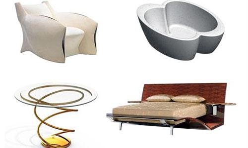 Así son los muebles diseñados por Brad Pitt