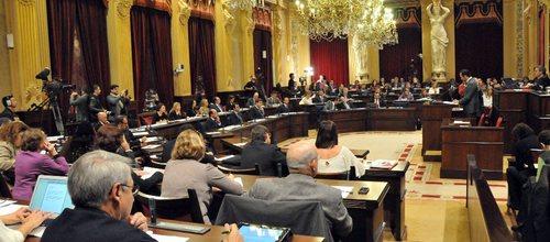 El Parlament debatirá las enmiendas a la totalidad de los Presupuestos