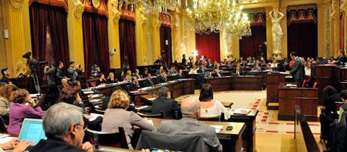 Los presupuestos de 2013 superan hoy su primer trámite en el Parlament