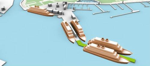 El nuevo muelle para cruceros se abrirá el 26 de noviembre