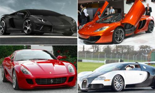La flota de coches de Cristiano Ronaldo vale casi 5 millones