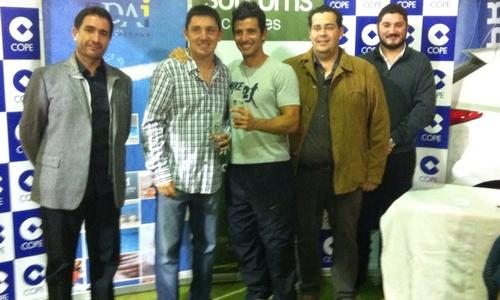 Xavi Cortey y Oscar Martín ganan el I Torneo de padel Cope Indoor