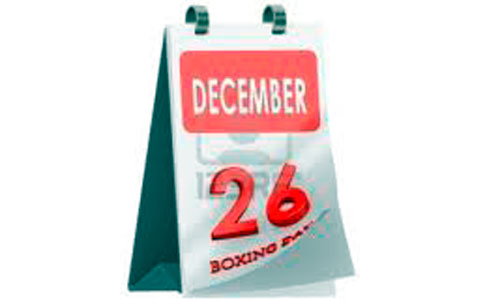 El 26 de diciembre volverá a ser festivo en 2013
