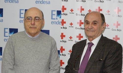 """Endesa colabora con la """"Ajuda d'Emergència Social"""" de Cruz Roja"""