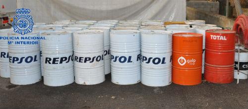 Detenida una persona en Manacor por robar 8.000 litros de carburante