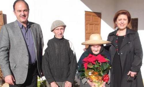 La abuela de Baleares celebra su 106 cumpleaños