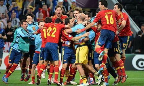 Los penaltis del Portugal-España de la Eurocopa, lo más visto del 2012