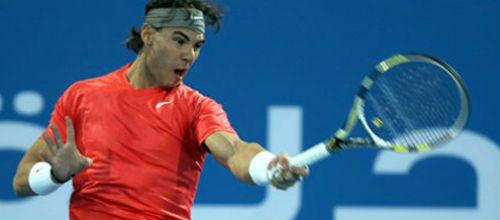 Rafa Nadal suspende su participación en el torneo de Abu Dhabi