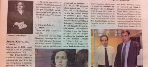 Frígola, González Miró y Latorre, jueces diseccionados por l'Estel